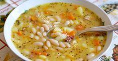 Fazuľová polievka ako od babičky s úžasne lahodnou chuťou! Fall Dinner Recipes, Fall Recipes, Soup Recipes, Vegan Recipes, Cooking Recipes, Quick Recipes, Cheeseburger Chowder, Clean Eating, Food And Drink