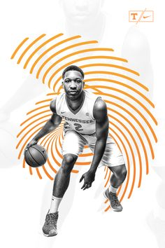 """Check out this @Behance project: """"Tennessee Men's Basketball // Poster Design"""" https://www.behance.net/gallery/49012161/Tennessee-Mens-Basketball-Poster-Design"""