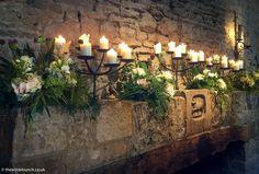 Cripps Barn Wedding, Barn Wedding Venue, Barn Wedding Flowers, Stone Barns, Wedding Ceremonies, Backdrops, Floral Design, Fire, Table Decorations