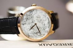 Girard-Perregaux 1966 Chambers of Wonders Collection Terrestrial Map