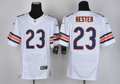 Men's Nike NFL Chicago Bears #23 Devin Hester White Elite Jersey.  If interested in them, pleases E-mail bettyjerseycheap@gmail.com