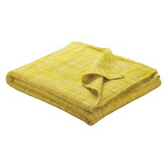 Habitat Havill Yellow Throw at Homebase -- Be inspired and make your house a home. Buy now. Mustard And Grey Bedroom, Annex Ideas, Dark Sofa, Silk Blanket, Dog Couch, Yellow Pattern, Bed Throws, Soft Furnishings, Habitats