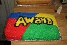 AWANA Cake for our Back to AWANA Party!