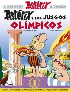 """""""Astérix y los juegos olímpicos"""", René Goscinny"""