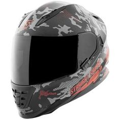 ee3f0f389a Speed And Strength SS1600 Straight Savage Helmets - Red Black Helmets For  Sale