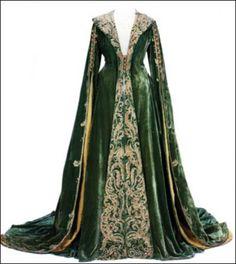 Autant en emporte le vent », Scarlett O'Hara, robe d'intérieur, Costume Design : Walter Plunkett