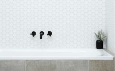 Jumbo White Pennyround Mosaics - Products - Surface Gallery