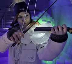 Orchestra performs in igloo with instruments made of ice - Ego - AlterEgo I Love Music, Music Is Life, Good Music, Violin Music, Art Music, Music Books, Colorado, Only Play, Muscular