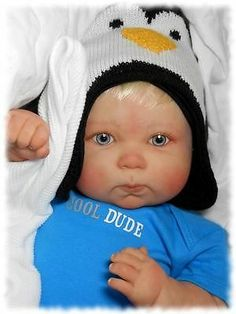 Reborn Berenguer Doll, Big and Chubby Boy, Ready for Winter