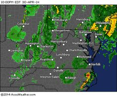 Maryland & PA: Looks as if most of the rain will now be lighter, except for storms on North Carolina coast. Just a rough day overall and a very nasty storm system. 10:45 PM EDT 10/30/2014