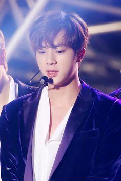 •161231 BTS JIN @ 2016 MBC Gayo Daejejeon