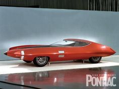 Pontiac Cirrus Concept (1969) sure looks like an older design than 1969