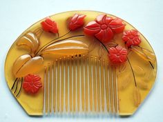 1930s Japanese Vintage Hair Ornament COMB