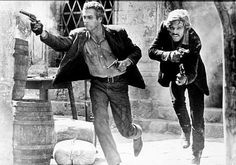 """Paul Newman, Robert Redford, in """"Butch Cassidy and the Sundance Kid"""" (George Roy Hill, of the best looking men to ever grace the screen (with talent to boot) Sundance Kid, Westerns, Great Films, Good Movies, Paul Newman Robert Redford, George Roy Hill, Katharine Ross, Cool Hand Luke, Chef D Oeuvre"""