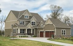 Exclusive Five Bedroom Craftsman with Sports Court Included - 73374HS - 02
