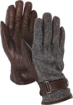 Bench & Loom WOOLRICH JOHN RICH & BROS. Wool & Leather Gentry Gloves For Men ($145)