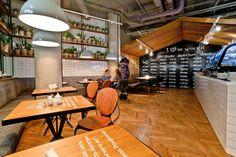 Décoration Industrielle Café