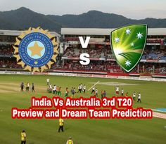 Hello welcome, our India vs Australia 3rd T20 Preview Dream11 Team Prediction. We Cover Team News, Probable Playing XI and Dream11 Cricket Team Prediction.