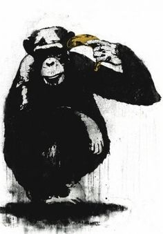 Zooicide by street artist Dolk, similar to Banksy