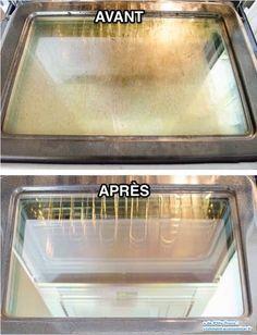 Comment nettoyer en profondeur la vitre du four ?