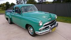 1951 Chev UTE R H Drive in NSW
