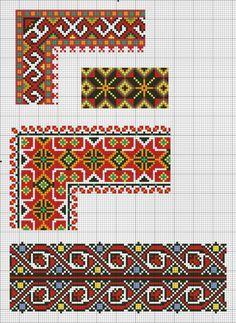 Gallery.ru / Фото #31 - К.К - Tusja000 Towel Embroidery, Blackwork Embroidery, Cross Stitch Embroidery, Embroidery Patterns, Cross Stitch Art, Cross Stitch Patterns, Graph Paper Art, Hippie Crochet, Crochet Ripple