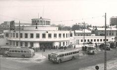 Turun linja-autoasema vuonna 1951.