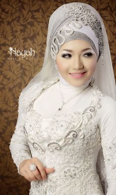 Nice Bridal Hijab Headpieces For Your Wedding Day