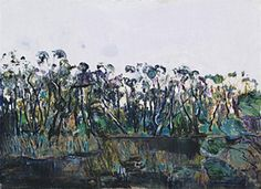 Landscape with Swamp, 1972 by Fred Williams