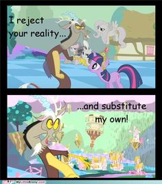 Discord is just like Pinkie Pie really XD