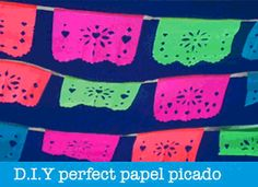 papel picado tutorial templates instructions step-by-step