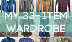 How one woman went from 134 items to 33 items in her wardrobe #declutter