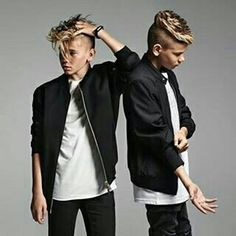 Who are mac Twin Brothers, Great Friends, Stavanger, Twins, Dads, Bomber Jacket, My Love, Jackets, Style