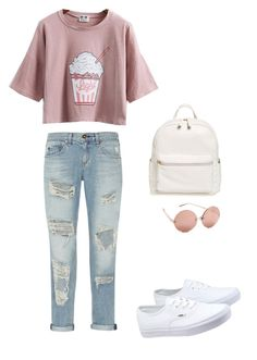 """""""E"""" by jellocake ❤ liked on Polyvore featuring rag & bone, Vans, BP. and Linda Farrow"""