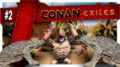Conan Exiles | Part 2 | FINDING MY NEW KINGDOM Conan Exiles, Christmas Ornaments, Holiday Decor, Youtube, Christmas Jewelry, Christmas Decorations, Youtubers, Christmas Decor, Youtube Movies
