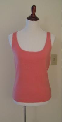 Women's Pink Tank Top (Sz L)