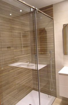 This bathroom renovation was made with our #2216 and #2217 series.