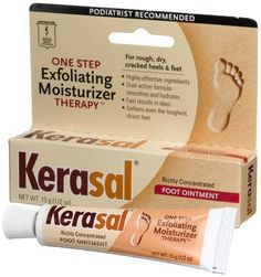 KERASAL 15G EXFOLIATING MOISTURIZING FOOT OINTMENT- another product I have been recently using and it works!