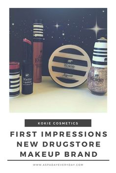 If you love great drugstore makeup, read on to learn about Kokie Cosmetics!