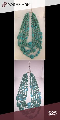 Turquoise Statement Necklace Turquoise Statement Necklace Jewelry Necklaces