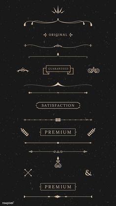 Motifs Islamiques, Kalender Design, Vintage Banner, Web Design, Snapchat Stickers, Bullet Journal Art, Floral Logo, Vintage Labels, Free Illustrations