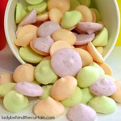 Frozen Yogurt Buttons