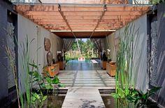 Villa Dewi Siri's entrance @Dea Cafferky Villas #Bali  #DewiSiri #Indonesia #homedecor #DeaVillas #entrance