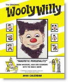 Wooly Willy- I played with this thing for hours!!