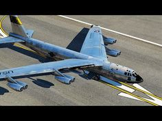 World's Heaviest Military Bomber Take Off Attempt B 52 Stratofortress, Fighter Jets, Purpose, Military, Events, World, Nasa, Airplane, Planes