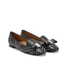 Studded Vara Moccasin  Moccasins  Drivers  Shoes  Women  Salvatore  Ferragamo