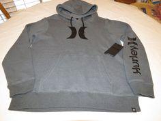 Hurley hoodie hoody shirt long sleeve Men's M MFT0006140 Icon Pullover 06B #Hurley #hoodiejacketshirt
