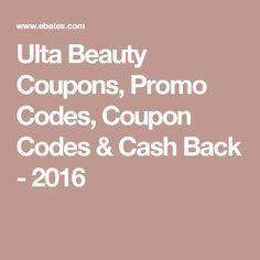Ulta Beauty Coupons, Promo Codes, Coupon Codes & Cash Back - 2016