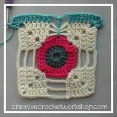 Afghans This Dragonfly Granny Square is the Afghan Block in the Crochet A Block Afghan 2017 Crochet Along! - This Dragonfly Granny Square is the Afghan Block in the Crochet A Block Afghan 2017 Crochet Along! Crochet Squares Afghan, Crochet Quilt, Granny Square Crochet Pattern, Crochet Stitches Patterns, Crochet Motif, Diy Crochet, Granny Squares, Crochet Granny, Crochet Poppy