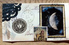 Mail art moon 2014